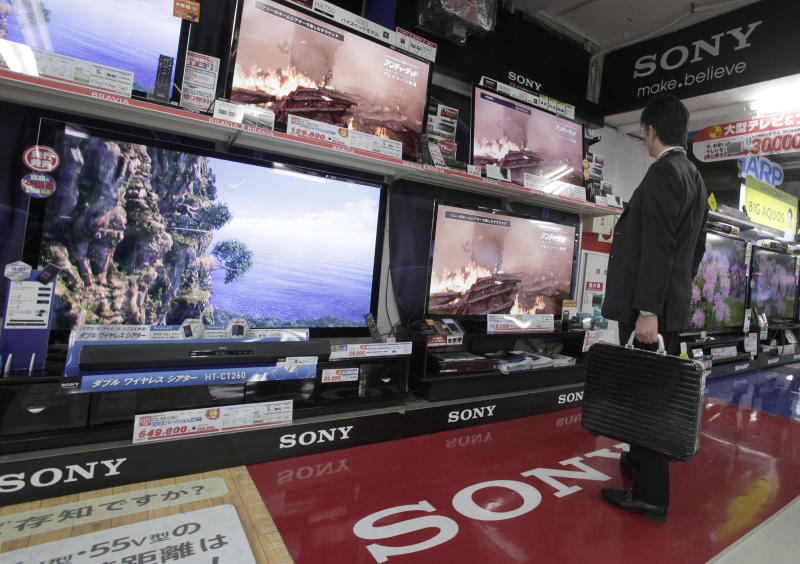 Sony reduces loss on sales recovery, restructuring