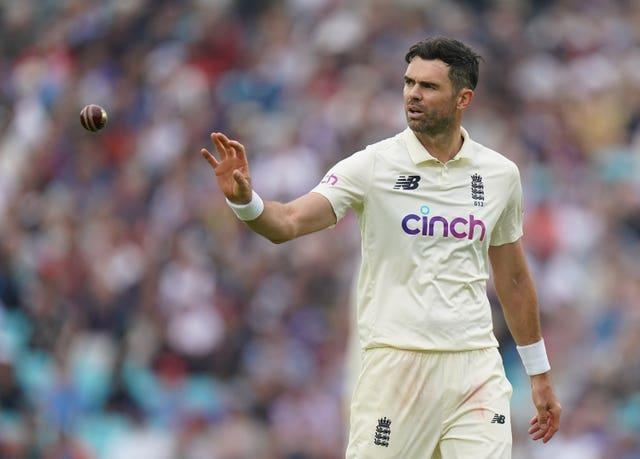 James Anderson has taken on a big workload