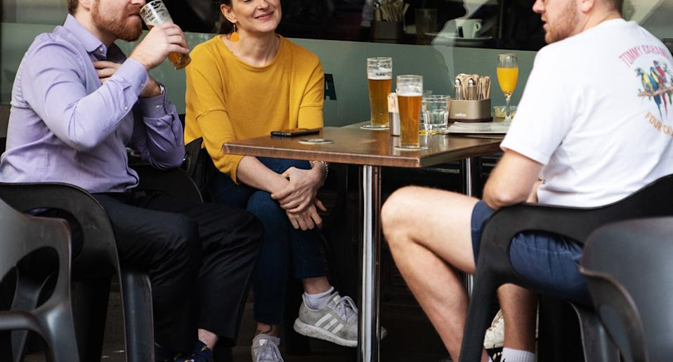 A group of people at a pub. Source: AAP