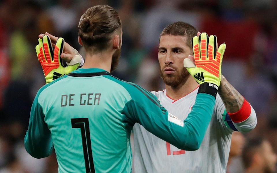 David de Gea, the Spain goalkeeper, will be hoping to put in a better performance against Iran on Wednesday assuming, that is, the Manchester United player is selected by manager Fernando Hierro - REUTERS