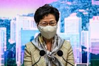 At her weekly press conference, Hong Kong leader Carrie Lam -- a pro-Beijing appointee -- declined to comment on whether the law had been passed or what it contained