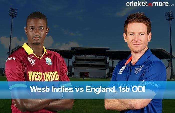 1st ODI: West Indies Vs England