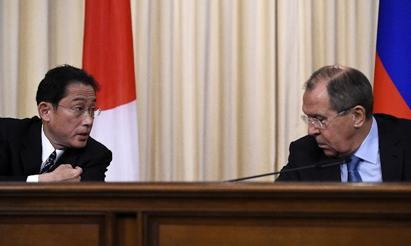 Russia's Lavrov says hard to solve peace treaty issue with Japan