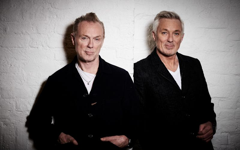 Gary and Martin Kemp, the subjects of The Kemps: All True - BBC
