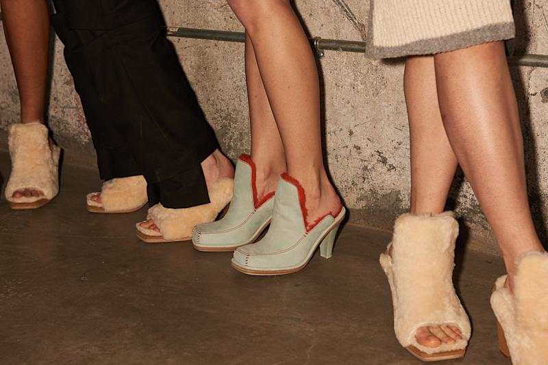 23e77379a39 Ugg x Eckhaus Latta NYFW debut is a hit