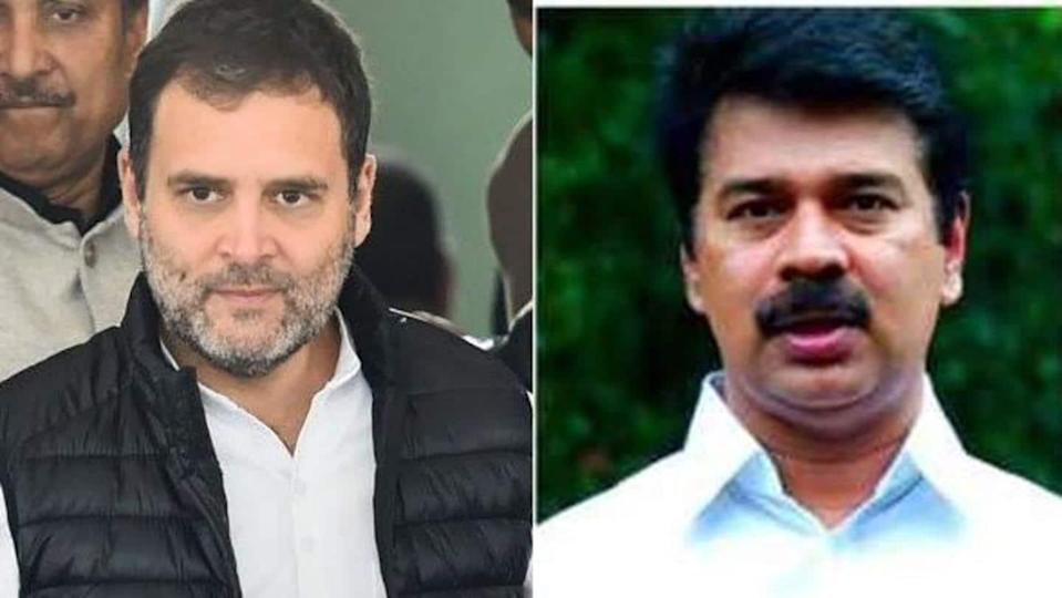 Former Kerala MP apologizes for sexually-colored remarks against Rahul Gandhi