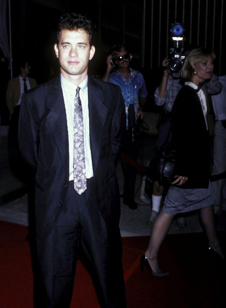 <p>Before starring in his breakout role in <em>Big, </em>Tom Hanks attended the premiere of another one of his early films: <em>Nothing in Common. </em>What a tie, right?</p>