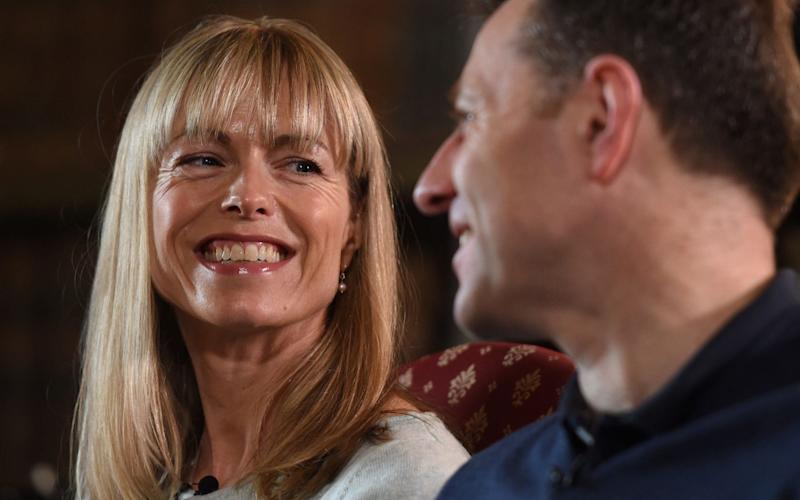 Kate and Gerry McCann, interviewed by the BBC - PA
