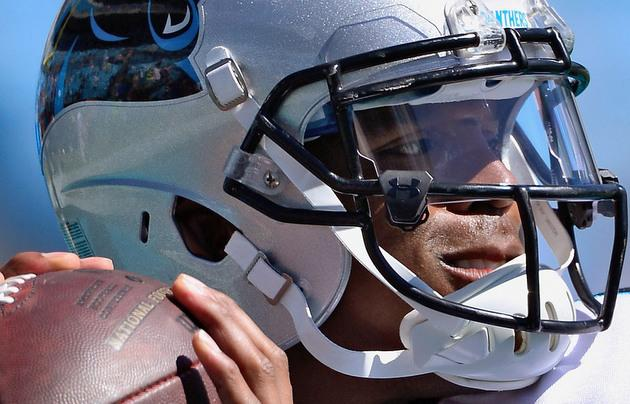 b044ad2d2957 Can you spot the uniform violation that Cam Newton has gotten away with  regularly through his career