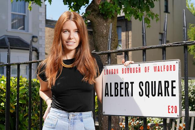Stacey Dooley will host behind the scenes EastEnders show 'Secrets From The Square'. (BBC)