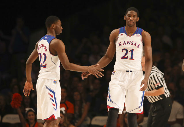 The Cavaliers and Sixers are reportedly focusing on Joel Embiid and Andrew Wiggins, respectively