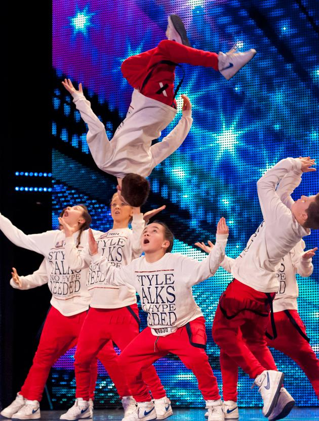 Britain's Got Talent photos: BGT hopefuls try to impress with their gymnastics.