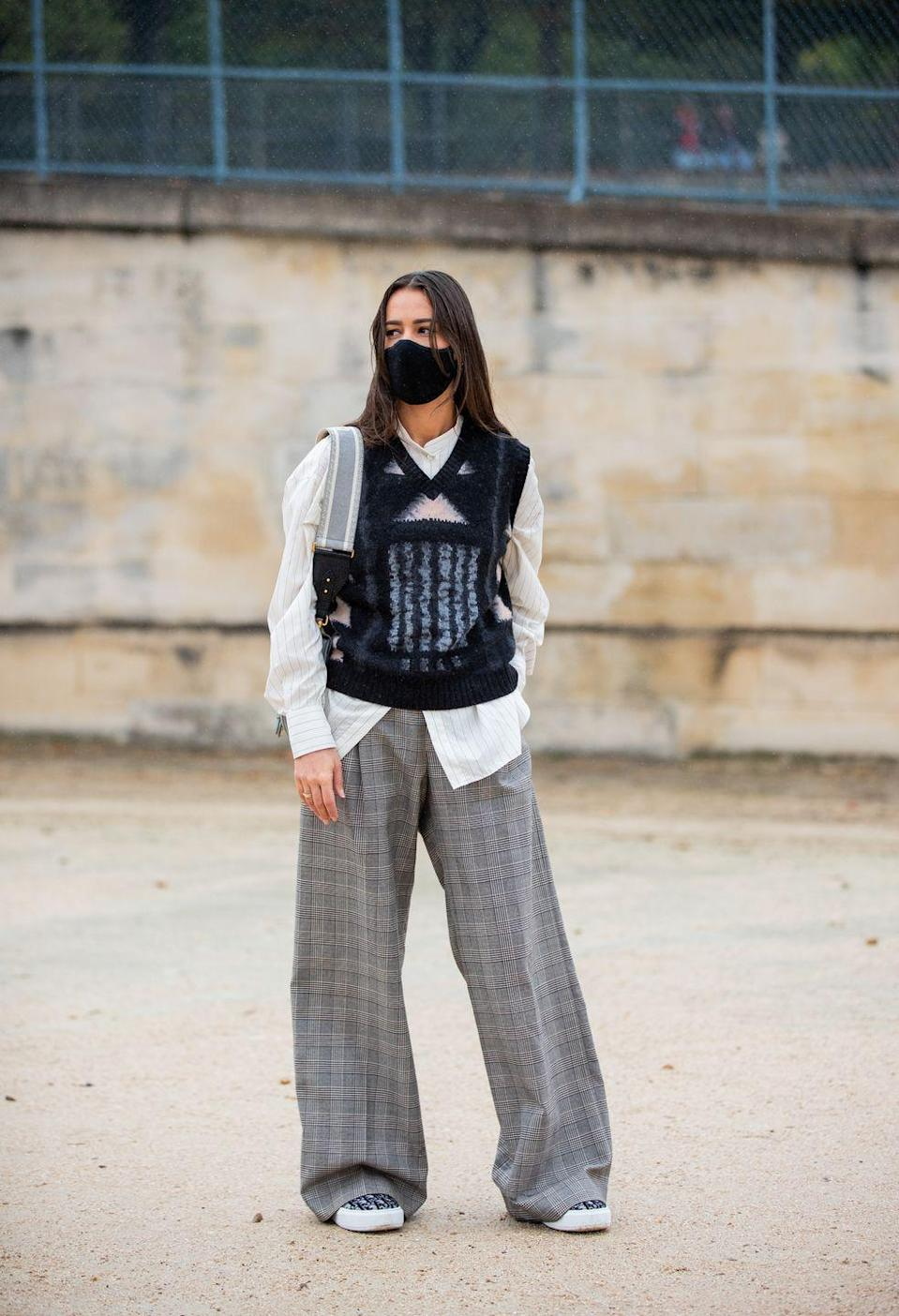 <p>This trend came in hard and fast last year, with all the fashion major players wearing them across our feed, but let's not abandon the knitted vest now good weather's approaching. Worn over dresses or crisp shirts, it's the ideal transeasonal knit. </p>