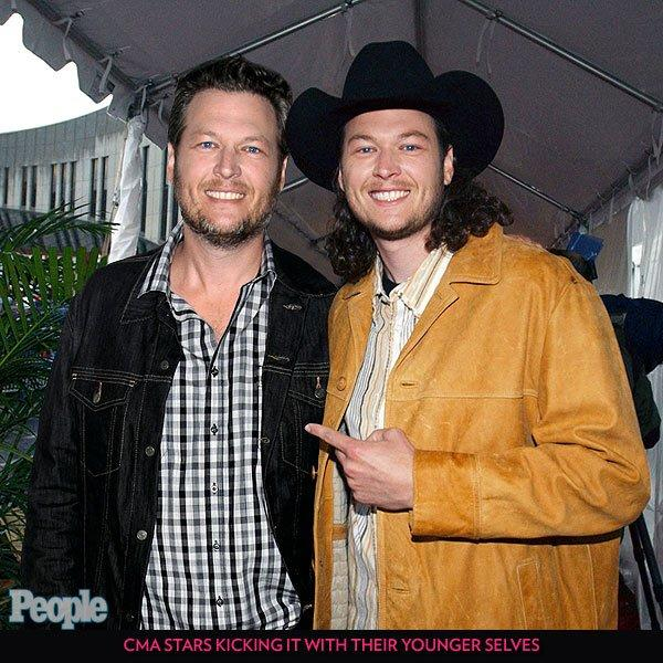 """Before <a href=""""/tag/blake-shelton/"""">Shelton</a> started his <em>The Voice</em> bromance with <a href=""""/tag/adam-levine/"""">Adam Levine</a>, he seemingly worked on his relationship with himself."""