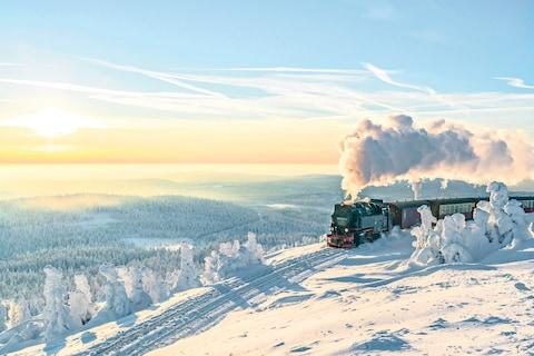 Take a steam train across the Harz mountains - Credit: GETTY