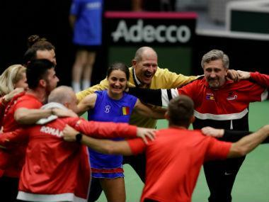 Romania reached the Fed Cup semi-finals for the first time on Sunday with a 3-2 win over defending champions Czech Republic as Irina-Camelia Begu and Monica Niculescu stunned Wimbledon and French Open winners Barbora Krejcikova and Katerina Siniakova in a marathon doubles decider.
