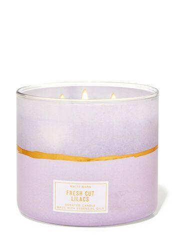 """<p><strong>Bath & Body Works</strong></p><p>bathandbodyworks.com</p><p><strong>$24.50</strong></p><p><a href=""""https://www.bathandbodyworks.com/p/fresh-cut-lilacs-3-wick-candle-026237010.html"""" rel=""""nofollow noopener"""" target=""""_blank"""" data-ylk=""""slk:Shop Now"""" class=""""link rapid-noclick-resp"""">Shop Now</a></p><p>The star of home movie night: one large, fragrant candle. Now that spring is here, we've gone all in on floral scents like this lilac variety, which smells divine, suffuses a large space, and burns low and slow.</p>"""