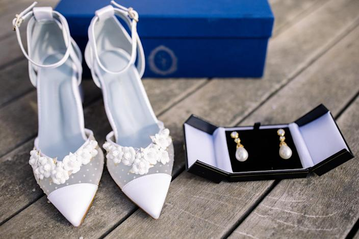 Meghan Markle's Go-To Shoe Designer Is Married, and Her Bridal Heels Were Out of This World