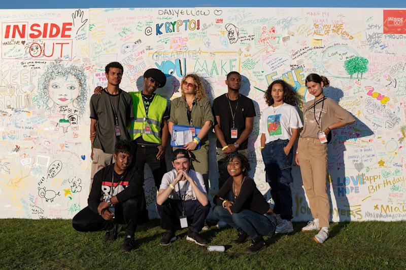Creative agency Livity organised for young people to be involved in designing the Lambeth County fair to give them the skills needed to take advantage of opportunities within their communities (Ellie Ramsden)
