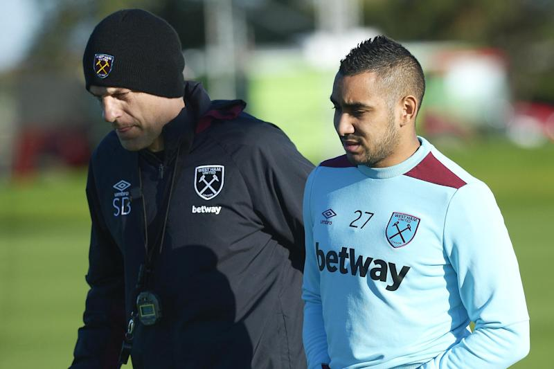 Bilic and Payet before the French midfielder returned to Marseille: Avril Husband/West Ham United via Getty Images