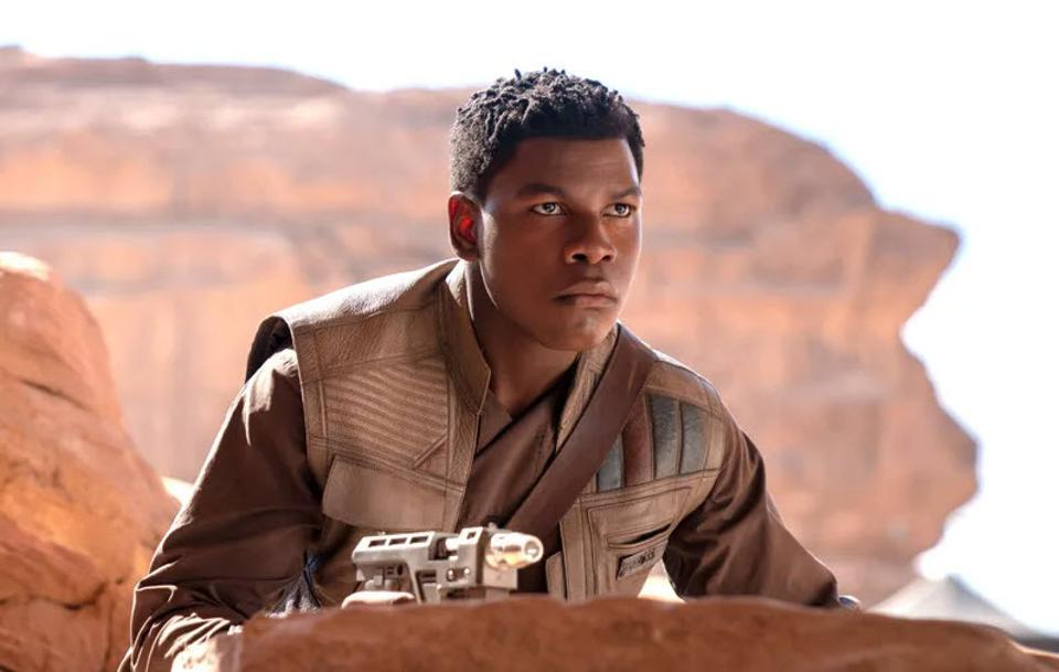 John Boyega in Star Wars: The Force Awakens (Credit: Disney/Lucasfilm)