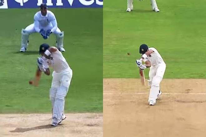 Kohli struggled with the fourth-stump channel during India's tour of England in 2014