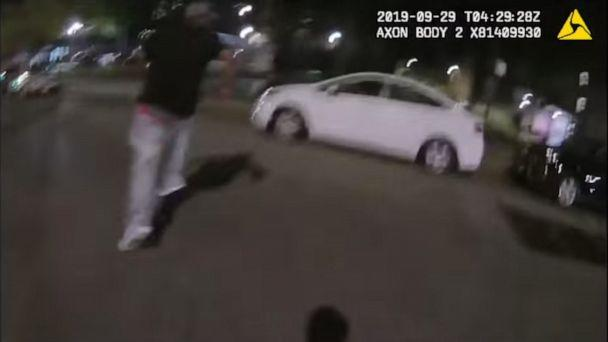 PHOTO: Body Camera Footage released by the New York Police Department shows a pursuit that ended in the death of Police Officer Brian Mulkeen. (NYPD)