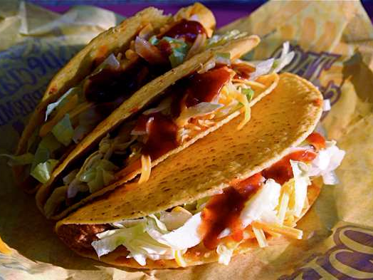 Taco Bell Healthiest Fast Food Chain
