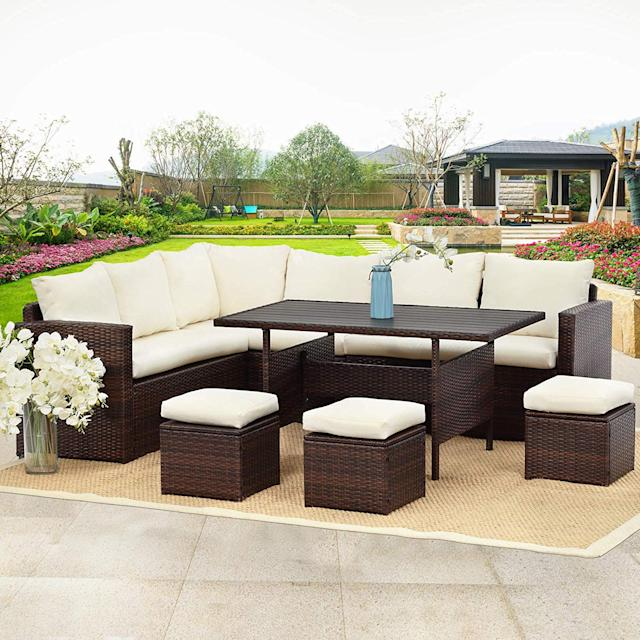 Wisteria Lane Outdoor Dining Conversation Set