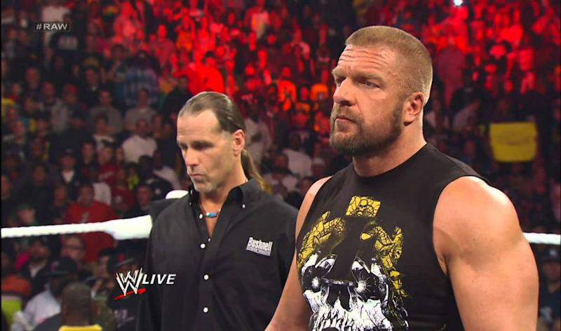 spoiler on shawn michaels next appearance and fight in wwe