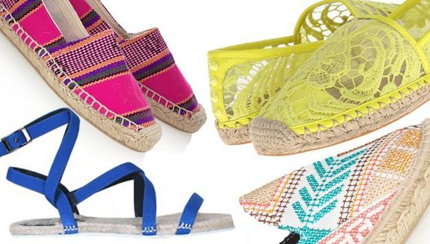Espadrilles for spring and summer
