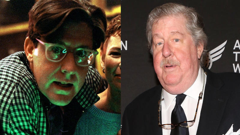 Ed Herrmann in 1987 and 2014. (Credit: Warner Bros/Robin Marchant/Getty Images)