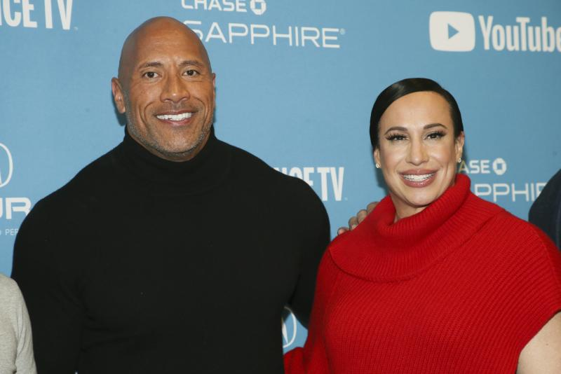 Dwayne Johnson and business partner Dany Garcia