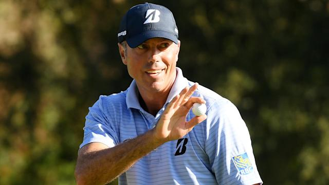 American Matt Kuchar will take a two-stroke lead into the weekend at the Genesis Invitational.
