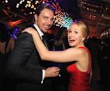 Dax Shepard originally proposed to Kristen Bell in 2009 but the pair decided not to get married until everybody could. When the Defense of Marriage Act was shut down, Bell proposed to Shepard on Twitter using the hashtag #marriageequality. (Getty Images)