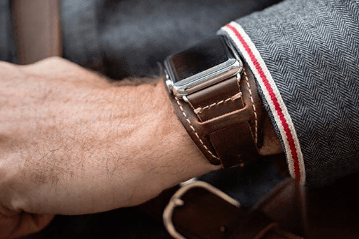 Pad and Quill Lowry Cuff Apple Watch Strap