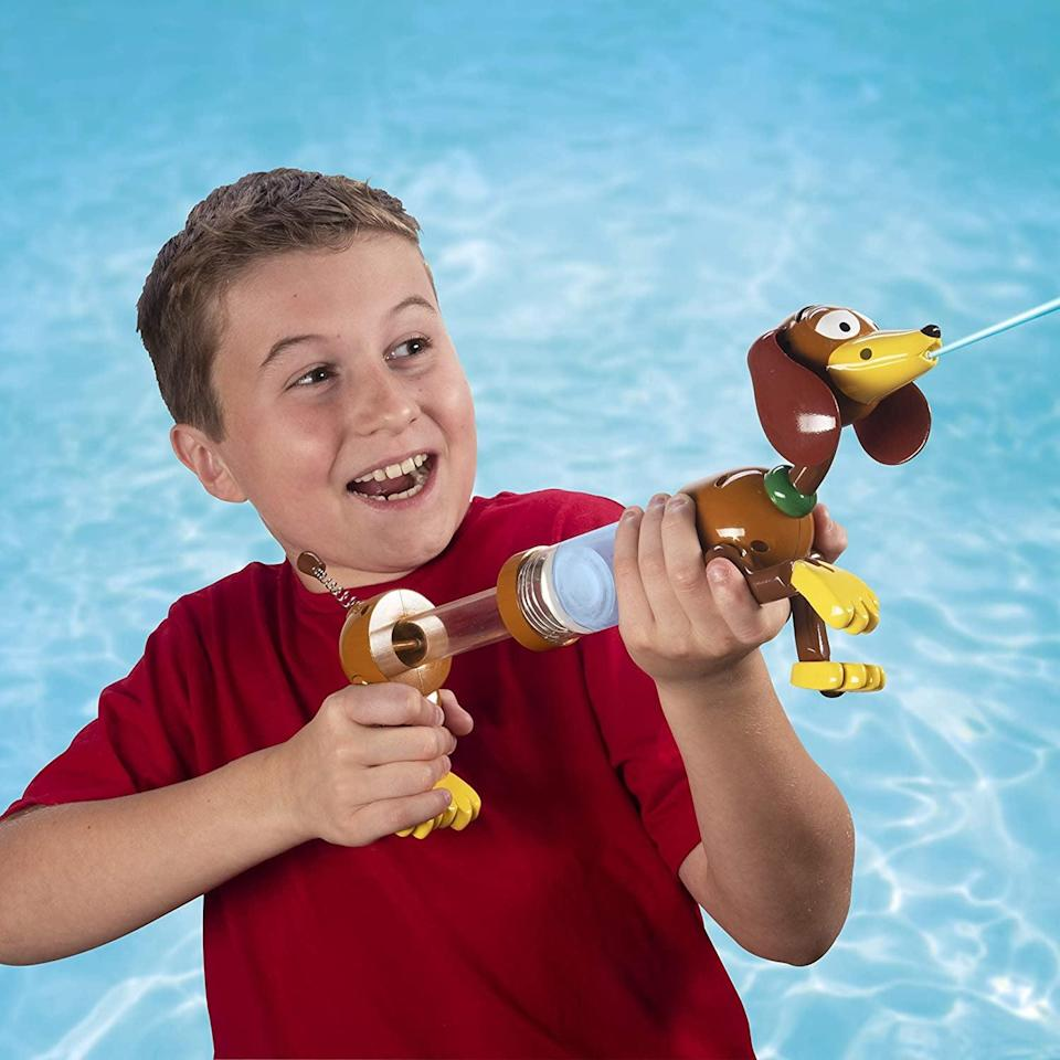 <p>The <span>SwimWays Disney Toy Story Slinky Dog Water Blaster</span> ($14) is a great way to have some fun this summer!</p>