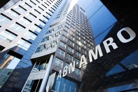 FILE PHOTO: ABN AMRO headquarters is seen in Amsterdam