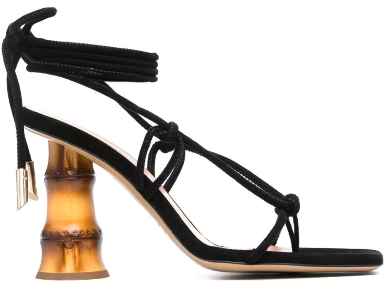 Gia Couture Eolo sandals.  - Credit: Courtesy Farfetch