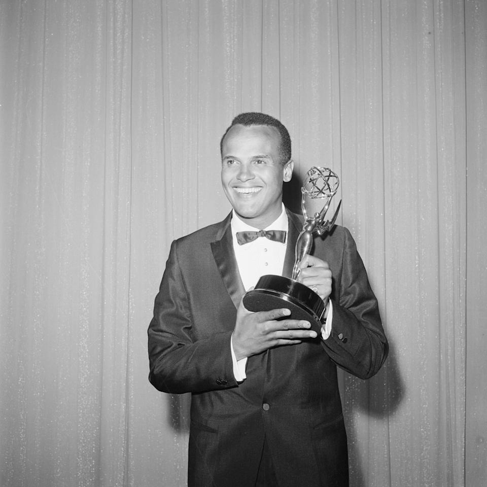 In 1960, Harry Belafonte became the first African American to ever win an Emmy for his show <em>Tonight with Harry Belafonte</em>.