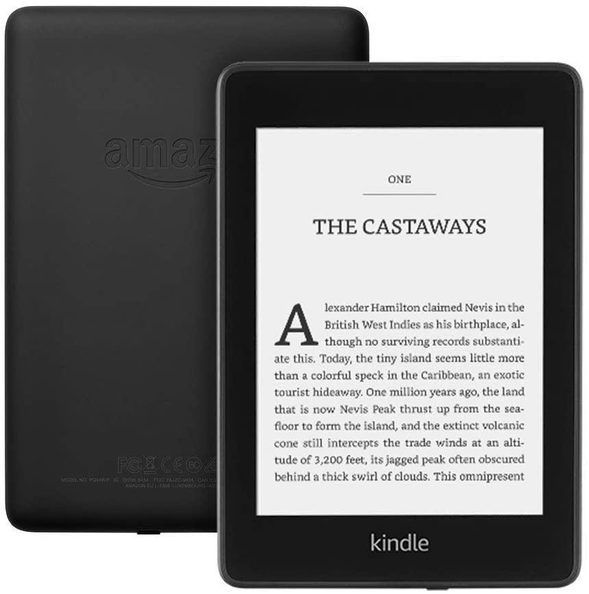 Kindle Paperwhite is a great way to bring the library with you