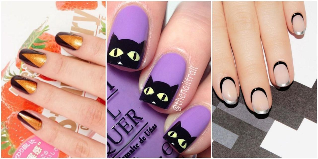 <p>Whether you're into blood and guts or pumpkins and cobwebs, polish up for Halloween with one of these spooky-cute designs. </p>