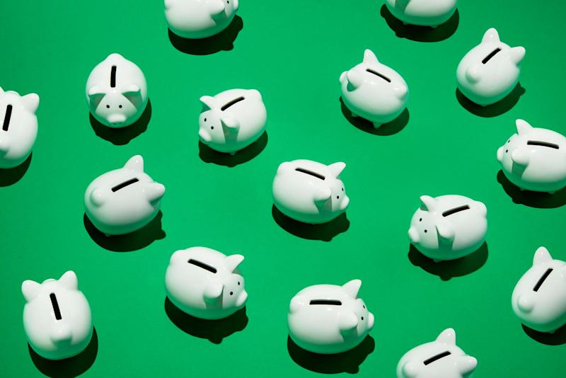 Piggy banks. Source: Getty