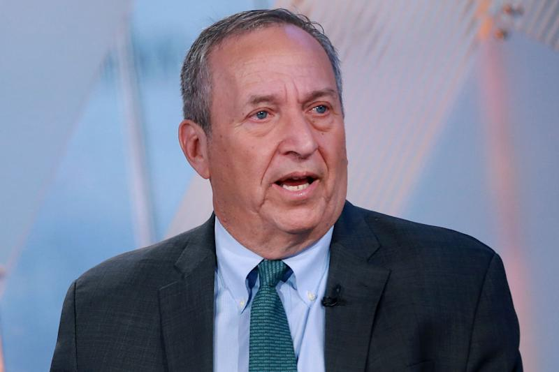 Former Clinton Treasury Secretary and Obama economic advisor Larry Summers