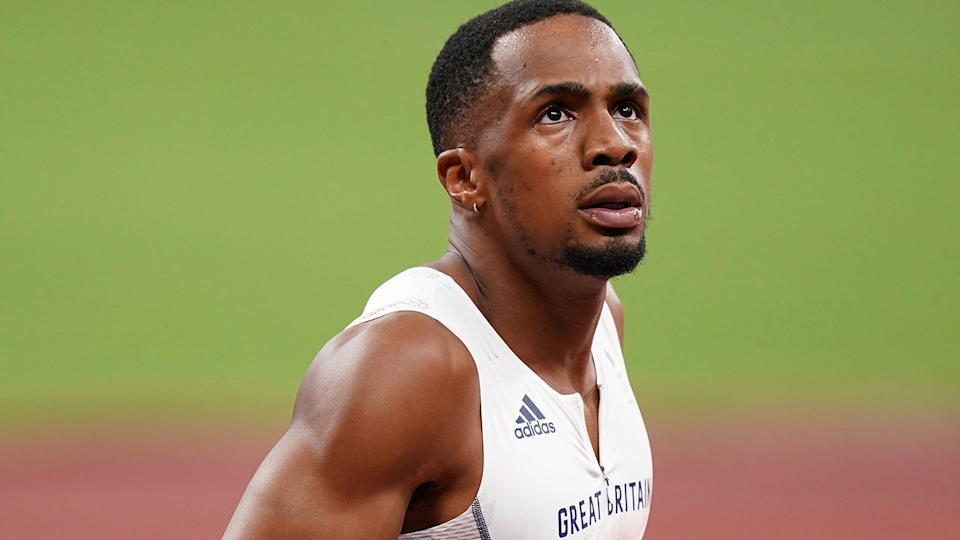 Pictured here, CJ Ujah insists he is innocent of the doping allegations made against him.