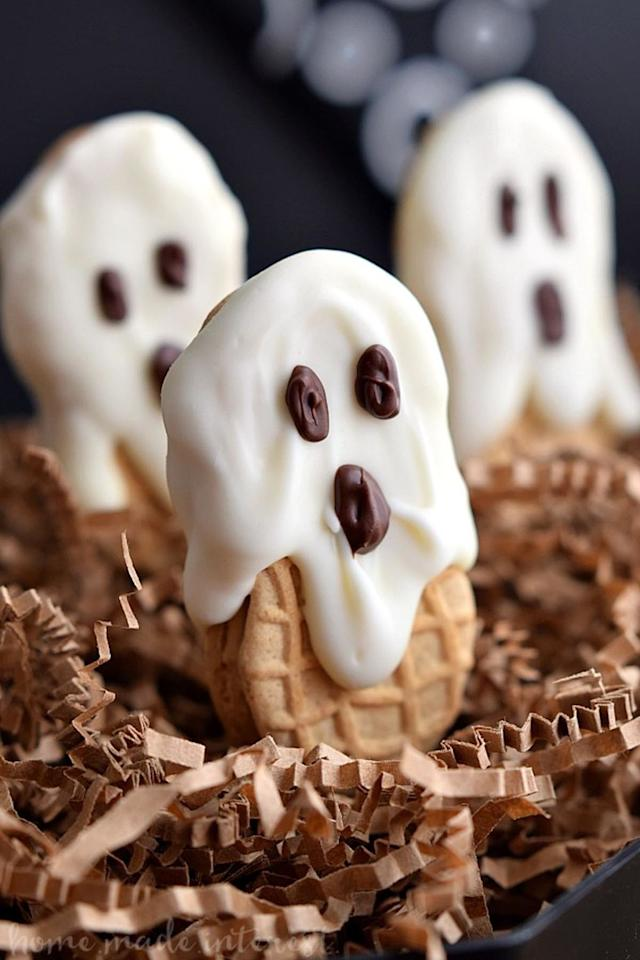 """<p><span>Can you believe it only takes three ingredients to make these spooktacular treats?</span></p><p><strong>Get the recipe at <a rel=""""nofollow"""" href=""""http://www.homemadeinterest.com/nutter-butter-boos/"""">Home. Made. Interest</a>.</strong></p><p><span><em></em></span></p>"""