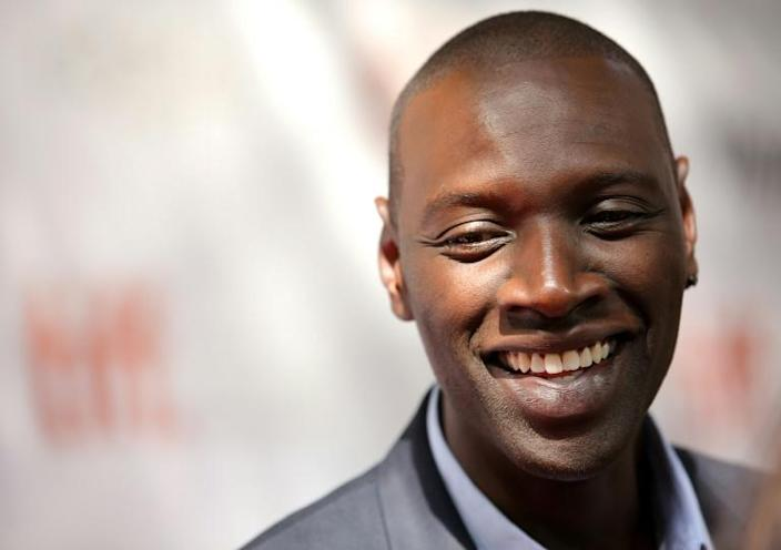 Omar Sy is a rare exception to the 'stereotype' having won a Cesar for his role in The Intouchables in 2011 (AFP Photo/Jemal Countess)