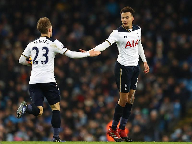 Dele Alli and Christian Eriksen have enjoyed fine seasons as the heartbeat of Tottenham's side (Getty)