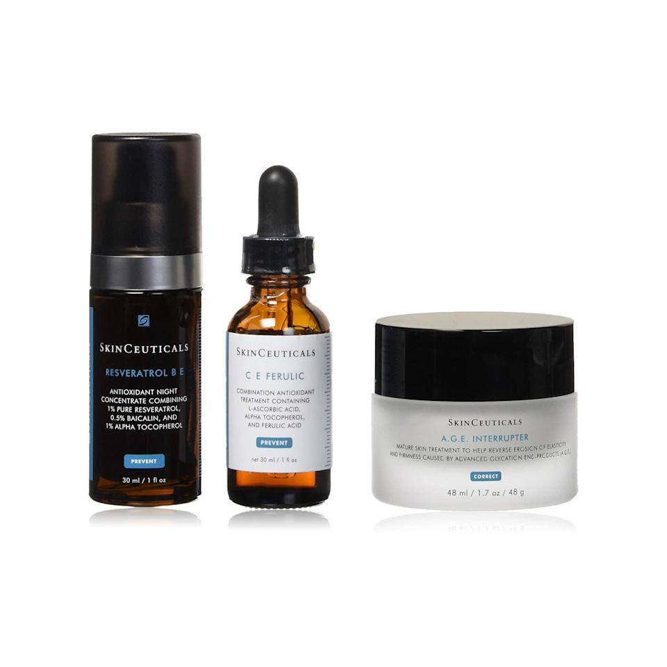 "<h3>SkinCeuticals Anti-Aging System</h3> <br> This souped-up kit is pricey, but has a value of over $481, making it a thoughtful gift for the ultimate skin-care lover in your life. <br> <br> <strong>SkinCeuticals</strong> Anti-Aging System, $, available at <a href=""https://go.skimresources.com/?id=30283X879131&amp;url=https%3A%2F%2Fwww.dermstore.com%2Fproduct_AntiAging%2BSystem_38328.htm"" rel=""nofollow noopener"" target=""_blank"" data-ylk=""slk:DermStore"" class=""link rapid-noclick-resp"">DermStore</a>"