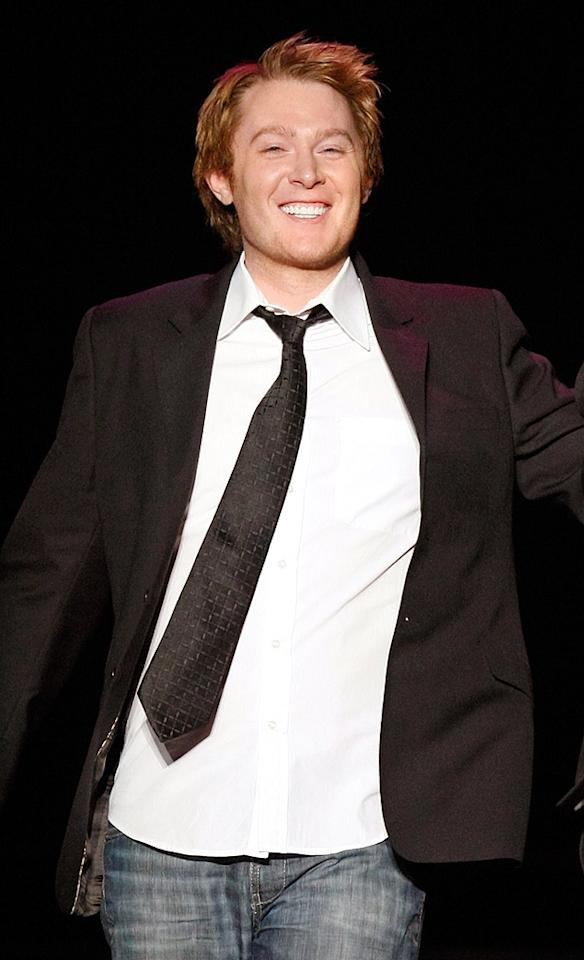 """He announced he's gay in 2008, but """"American Idol"""" runner-up Clay Aiken decided to raise his son, 22-month-old Parker, with a female friend, Jaymes Foster. The parents conceived through in vitro fertilization. Ethan Miller/<a href=""""http://www.gettyimages.com/"""" target=""""new"""">GettyImages.com</a> - May 9, 2009"""